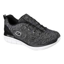 Women's Skechers Synergy 2.0 Scouted Sneaker Black/White