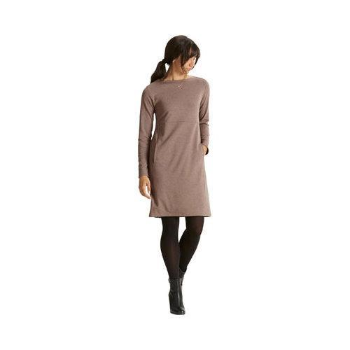 01485c9025 Shop Women s Nau Elementerry Boatneck Dress Mushroom Heather - Free  Shipping Today - Overstock - 17733865