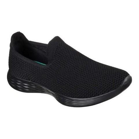 Women's Skechers YOU Zen Slip-On Sneaker Black