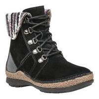 Women's Propet Dayna Ankle Boot Black Suede