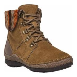 Women's Propet Dayna Ankle Boot Tan Suede
