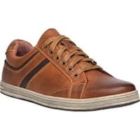 Men's Propet Lucas Sneaker Brown Waxy Nubuck Leather