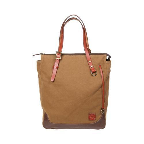 Women's TSD Brand Redwood Shopper Brown (One Size) (leather)