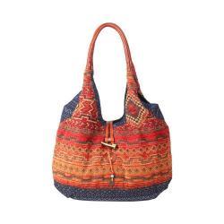 Women's TSD Brand Tribal Secret Hobo Orange/Navy