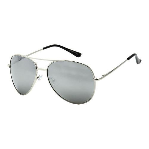 beb0f5673d716 Shop Men s SWG Classic Reflective Aviator Sunglasses SWGTUAV1MR Silver - On  Sale - Free Shipping On Orders Over  45 - Overstock - 17670097