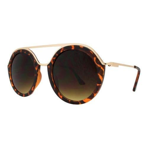 fbe80618233 Shop SWG Classy Double Bridge Round Sunglasses SWGDY8101 Gold - Free  Shipping On Orders Over  45 - Overstock - 17670101
