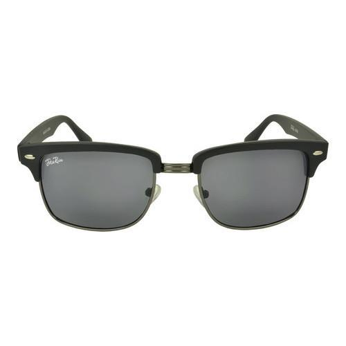 c68cf0069598 Shop Men s SWG Dirk Clubmaster Square Retro Sunglasses SWGJR103 Black -  Free Shipping On Orders Over  45 - Overstock - 17670166