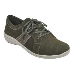 Women's Easy Spirit Litesprint Sneaker Grape Leaf/Timber Softy Suede/Neptune PU