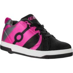 Children's Heelys Repel Roller Shoe Black/Charcoal/Hot Pink