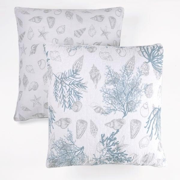 Shop Panama Jack Ocean Breeze 40 Inch Cotton Decorative Pillow Set Amazing 24 Inch Decorative Pillows