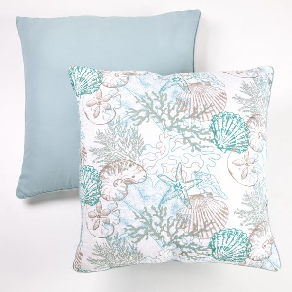Panama Jack Sea Collection 24 inch Cotton Decorative Pillow Set of 2