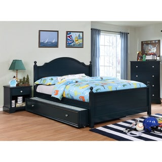Furniture of America Cing Transitional 2-piece Bed with Trundle Set