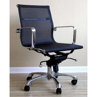Mesh Backed Aluminum Office Chair