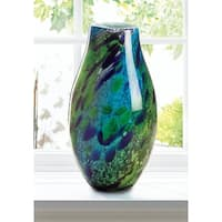 Riverdale Green Meadow Glass Vase