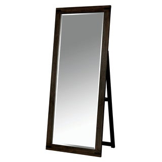 Furniture of America Vedaut Rustic Full Length Standing Mirror
