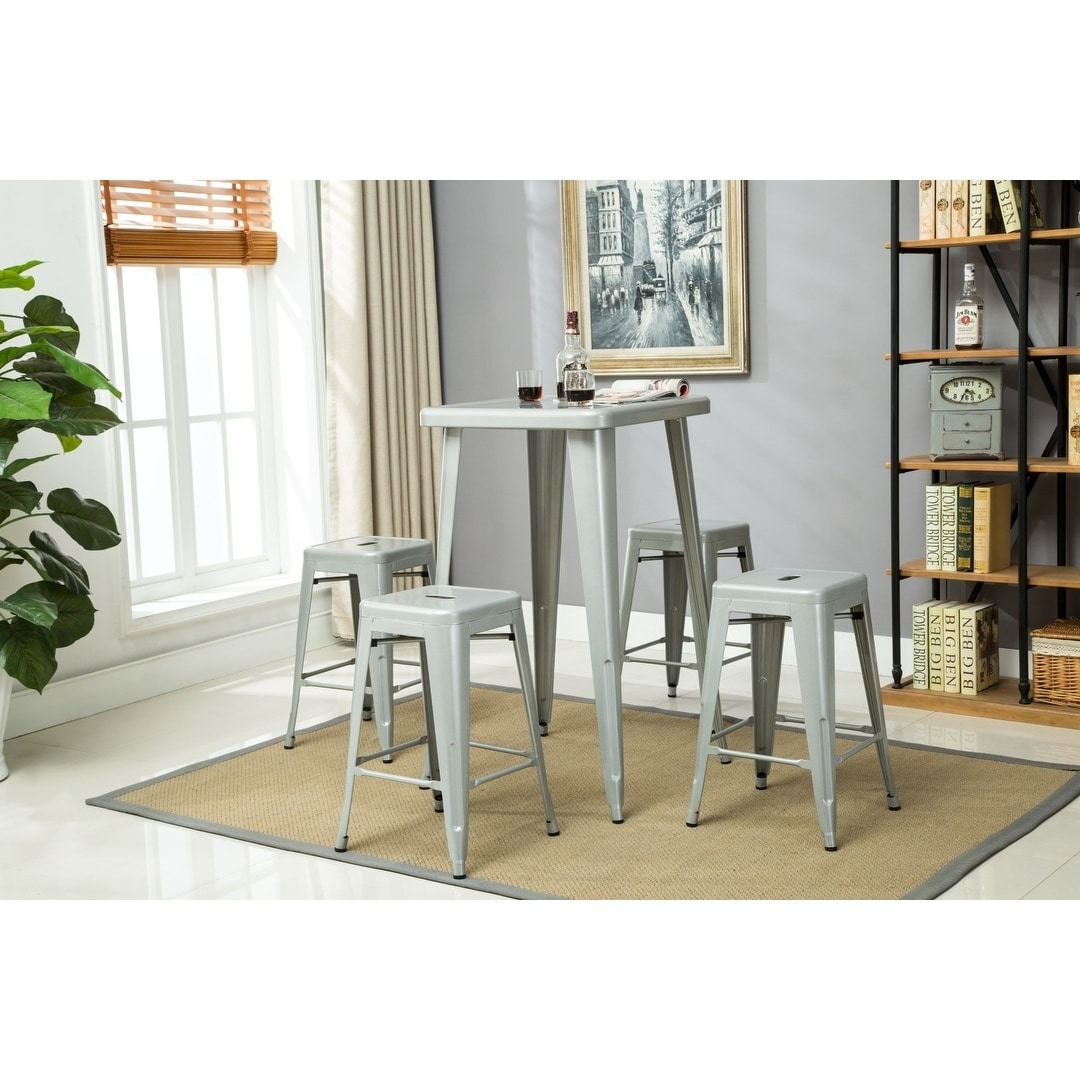 Merveilleux Porthos Home Stackable Indoor Metal Patio Counter Stool