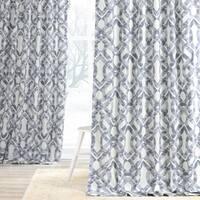 Exclusive Fabrics Celtic Printed Cotton Twill Curtain