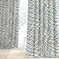 Exclusive Fabrics Ellis Printed Cotton Twill Curtain