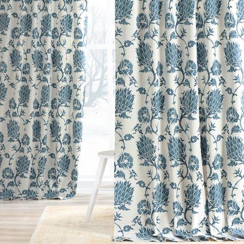 Exclusive Fabrics Duchess Printed Cotton Twill Curtain