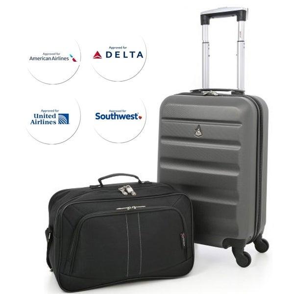 Shop Aerolite 22x14x9 Quot American United Amp Delta Airlines