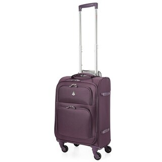 """Aerolite 22x14x9"""" Carry On MAX Upright Trolley Bags Luggage Suitcase, Maximum Allowance Approved for Delta, American Airlines!"""