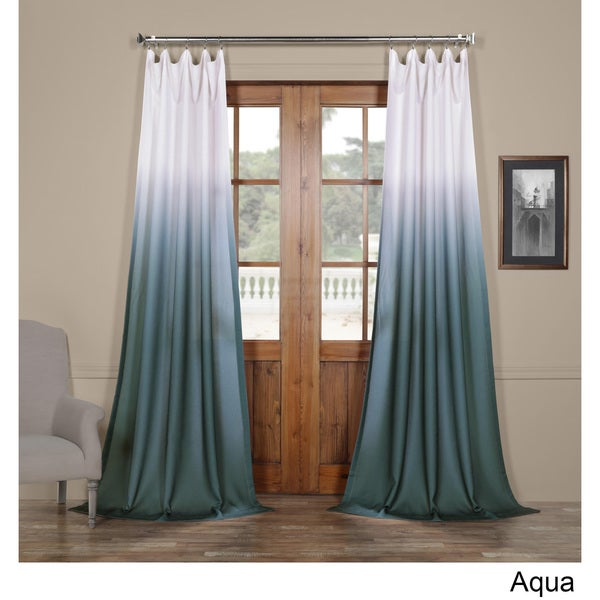 curtains sheer ombre room floral p for blue dividers