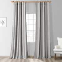 Exclusive Fabrics Hartford Faux Silk Stripe Curtain