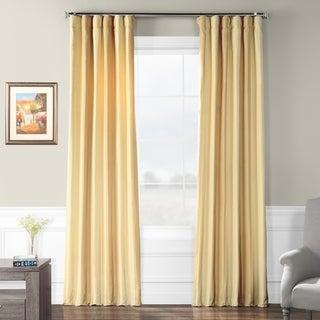 Exclusive Fabrics Bershire Faux Silk Stripe Curtain