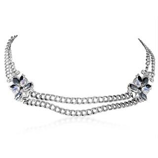 Stephen Webster Pop Superstud Sterling Silver Multi-Gem Necklace