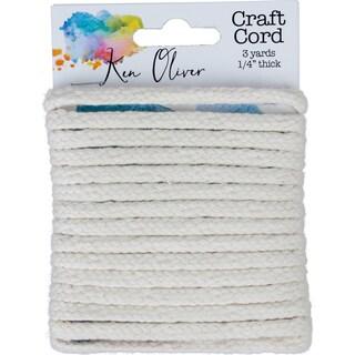"""Ken Oliver 100% Cotton Craft Cord .25""""X3yd"""