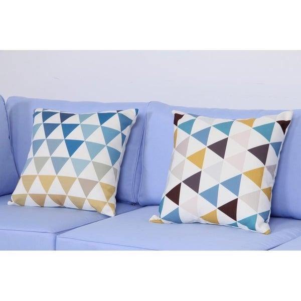 Shop Broyerk 17 7 Inch Outdoor Patio Toss Throw Pillow Set Of 2