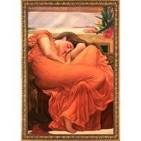 Frederic Leighton 'Flaming June' Hand Painted Oil Reproduction