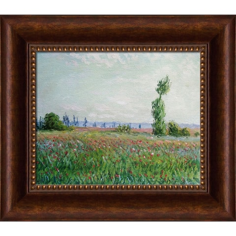 Claude Monet 'The Fields of Poppies' Hand Painted Oil Reproduction
