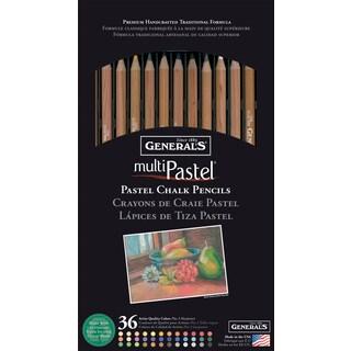 MultiPastel (R) Chalk Pencils 36/Pkg