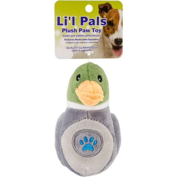 Shop Li L Pals Paw Plush Dog Toy Free Shipping On Orders
