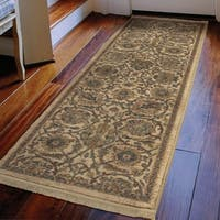 Copper Grove Nebeur Traditional Persian Teawash Cream Runner Rug by - 1'11 x 7'6