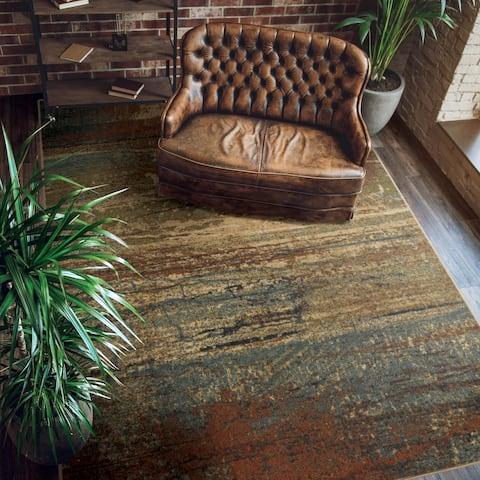 """Carbon Loft Eveline Distressed Multicolor Area Rug - Multi - 7'10"""" x 10'10"""""""