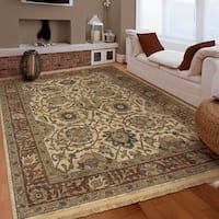 Copper Grove Nebeur Traditional Persian Teawash Cream Area Rug by - 5'3 x 7'6