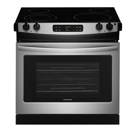 Frigidaire 30'' Drop-In Electric Range (Assembled - Stain...