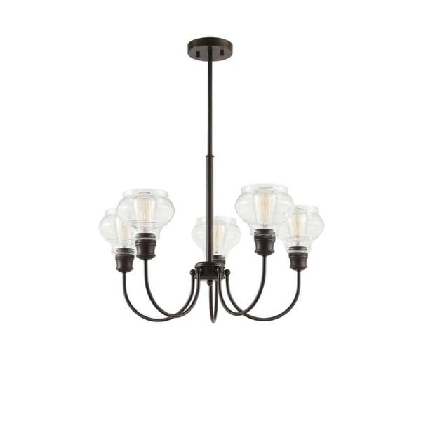Kichler Lighting Schoolhouse Collection 5-light Oil Rubbed Bronze Chandelier