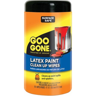 Goo Gone Latex Paint Clean Up Wipes