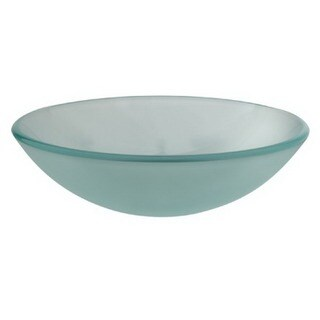 Purist Clear Green Tempered Glass Vessel Sink