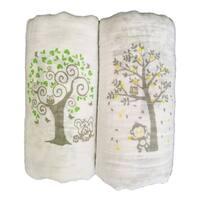 Muslin Swaddle Blankets 2 Pack