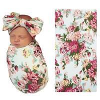 Floral Infant Swaddle Blanket