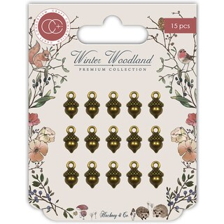 Craft Consortium Winter Wonderland Metal Charms 15/Pkg