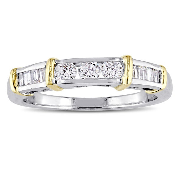 diamond rings item white gold w stg womens platinum wedding common ring ctw nop prong