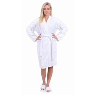 Turkuoise 100% Premium Turkish Cotton Terry Kimono Collar Robe