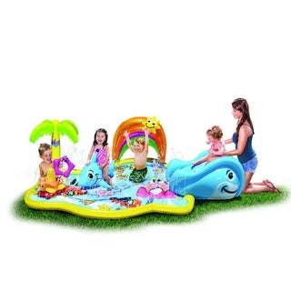 Banzai Toddler/Kids Inflatable Splish Splash Water Park