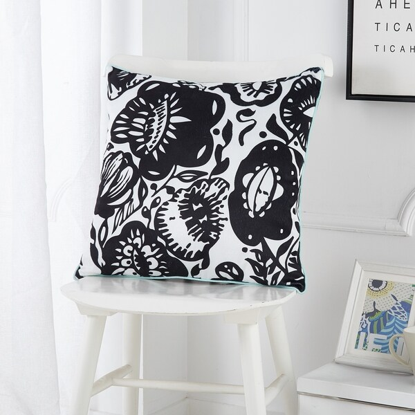 Urban Shop Flower Power Decorative Pillow