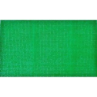 Evideco Outdoor Front Door Mat Pixie Artifical Grass Rug 24x16 Inch Green